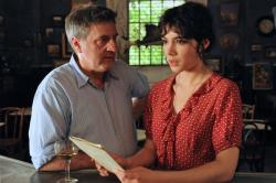 Daniel Auteuil and Victoire Belezy in Fanny