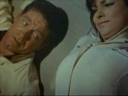 Stephen Boyd and Raquel Welch in Fantastic Voyage.