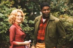 Julianne Moore and Dennis Haysbert in Far From Heaven.