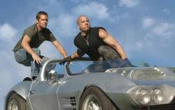 Paul Walker, Vin Diesel and a sweet car, that out performs them.