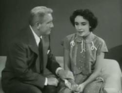 Spencer Tracy and Elizabeth Taylor in Father's Little Dividend.