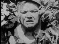 Fatty Arbuckle in a rare close-up in Fatty Joins the Force.