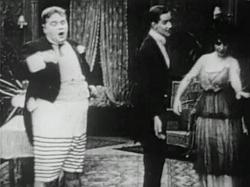 Roscoe (Fatty) Arbuckle in Fatty's Magic Pants.