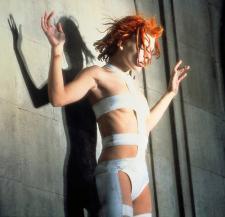 Milla models the latest in Ace Bandage body-wear.