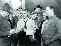 James Cagney in The Fighting 69th.