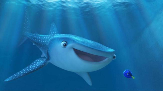 The half blind Destiny meets the forgetful Dory in Finding Dory