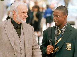 Sean Connery and Robert Brown in Finding Forrester.