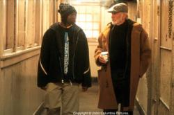 Robert Brown and Sean Connery in Finding Forrester.