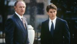 Gene Hackman and Tom Cruise in The Firm