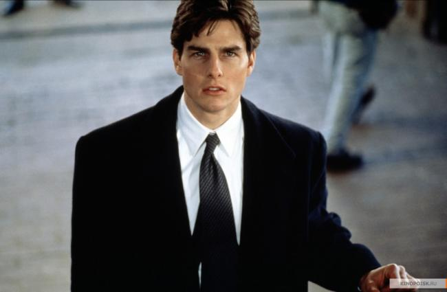 Tom Cruise in The Firm.