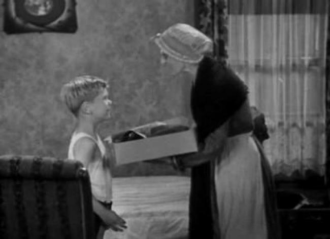 Jackie Cooper and Joy Winthrop in The First Seven Years.