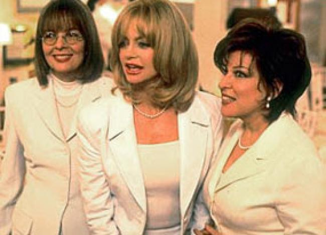 Diane Keaton, Goldie Hawn and Bette Midler in the First Wives Club