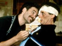 Kevin Kline and Michael Palin in A Fish Called Wanda.