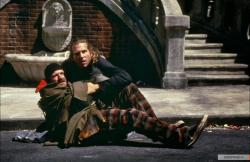 Robin Williams and Jeff Bridges in The Fisher King.