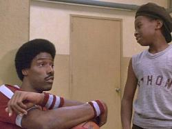 Julius Erving and James Bond III in The Fish That Saved Pittsburgh.