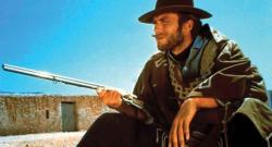 Clint Easwood in A Fistful of Dollars.