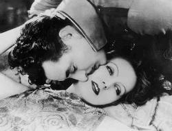 John Gilbert and Greta Garbo, the greatest silent movie lovers.