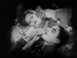 Greta Garbo and John Gilbert, post screen coitus, in Flesh and the Devil