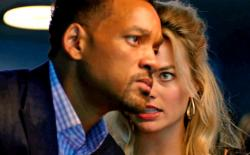 Will Smith and Margot Robbie are too serious in Focus.