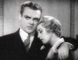 James Cagney and Joan Blondell in Footlight Parade.
