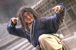 Jackie Chan in Forbidden Kingdom.