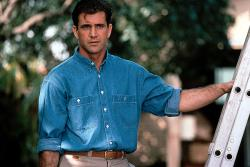 Mel Gibson in Forever Young.
