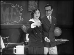 Jobyna Ralston and Harold Lloyd in For Heaven's Sake.