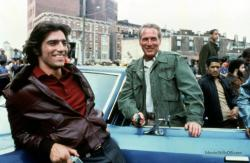 Ken Wahl and Paul Newman in Fort Apache, The Bronx