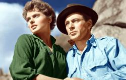 Ingrid Bergman and Gary Cooper play the cleanest cave dwelling rebels ever in For Whom the Bells Toll