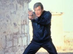 Roger Moore in For Your Eyes Only.