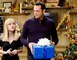 Reese Witherspoon and Vince Vaughn in Four Christmases.