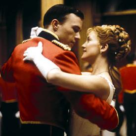 Heath Ledger and Kate Hudson in The Four Feathers.