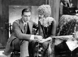 Rudolph Valentino and Alice Terry in The Four Horsemen of the Apocalypse.