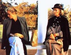 Jessica Lange and Kim Stanley in Frances.