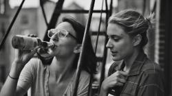 Mickey Sumner and Greta Gerwig in Frances Ha.