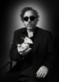 Tim Burton and his little Frankenweenie.