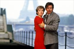 Betty Buckley and Harrison Ford in Frantic.