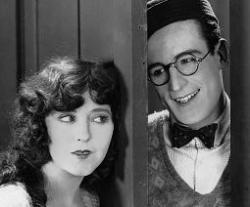 Jobyna Ralston and Harold Lloyd in The Freshman.