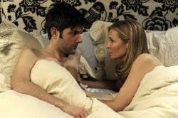 Adam Scott and Jennifer Westfeldt in Friends with Kids.