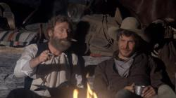 Gene Wilder and Harrison Ford in The Frisco Kid