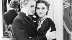 James Cagney and Margaret Lindsay in Frisco Kid.