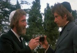 Gene Wilder and Harrison Ford in The Frisco Kid.