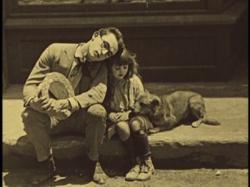 Harold befriends a waif and her dog.