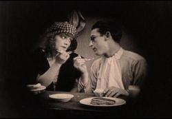 Midlred Davis and Harold Lloyd in From Hand to Mouth.