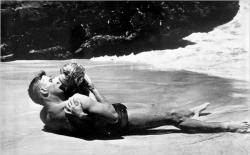 Burt Lancaster and Deborah Kerr in From Here to Eternity.
