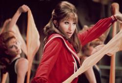 Barbra Streisand in Funny Girl.