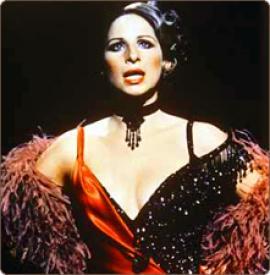 Barbra Streisand in Funny Lady.