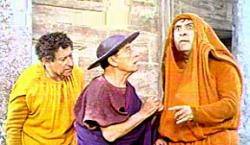 Gilford, Keaton and Mostel