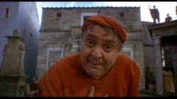 Zero Mostel as Pseudolus in A Funny Thing Happened on the Way to the Forum