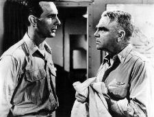 Dennis Weaver wants James Cagney as Admiral Halsey to get his shots.